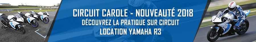 Yamaha R3 - Circuit Carole